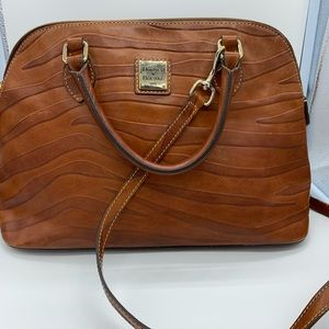 DOONEY and BOURKE J2172721 brown leather tote bag